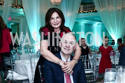 Anna and Robert Trone. Photo by Tony Powell. 2015 Nutcracker Tea. Willard Hotel. December 13, 2015