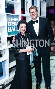 Lucky Roosevelt, Steve Clemons. Photo by Tony Powell. 2015 Opera Ball. June 6, 2015