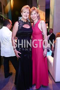 Anne Pohanka, Kate Mangione. Photo by Tony Powell. 2015 Opera Ball. June 6, 2015