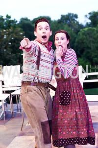 Hansel and Gretel Ian McEuen and Emily Cohen. Photo by Tony Powell. 2015 Opera Ball. June 6, 2015