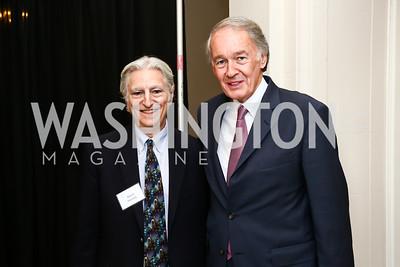 David Helvarg, Sen. Ed Markey. Photo by Tony Powell. 2015 Peter Benchley Ocean Awards. Carnegie Institution for Science. May 14, 2015