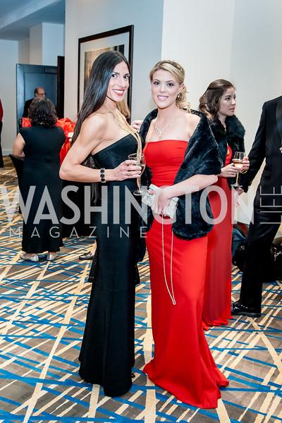 Nicole Toffler, Alexis Mayes. Photo by Tony Powell. 2015 Salute to Service Gala. November 20, 2015