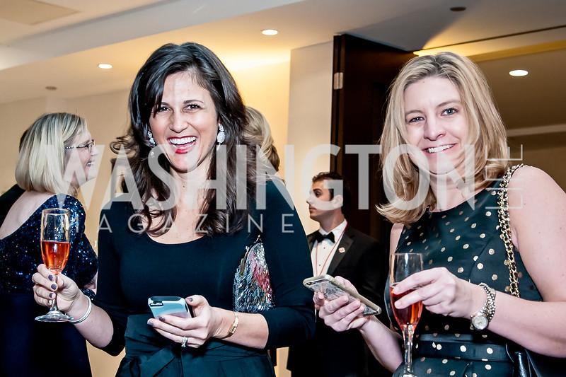 Paige Sheedy, Jackie McAllister. Photo by Tony Powell. 2015 Salute to Service Gala. November 20, 2015