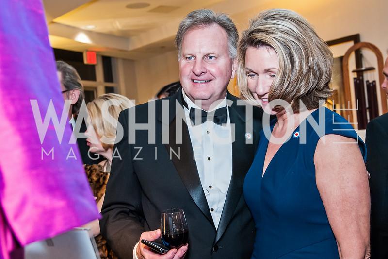 Bill and Cathy Warrin. Photo by Tony Powell. 2015 Salute to Service Gala. November 20, 2015