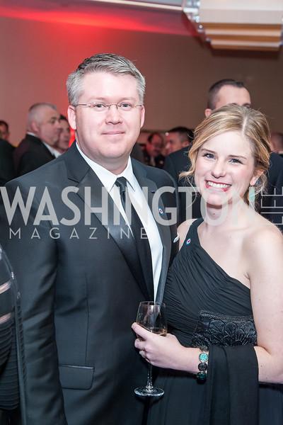 Shaun and Christine McElhinney. Photo by Tony Powell. 2015 Salute to Service Gala. November 20, 2015
