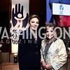 Empress Farah Pahlavi, Annie Totah. Photo by Tony Powell. Save a Child's Heart. Howard Theater. November 1, 2015