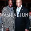 Maya Cummings and Rep. Elijah Cummings. Photo by Tony Powell. Save a Child's Heart. Howard Theater. November 1, 2015