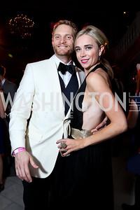 Geoff Orazem, Whitney Austin Gray. Photo by Tony Powell. 2015 SOME Junior Gala. February 7, 2015
