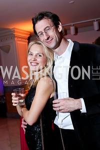 Ruta and Sean Johnson. Photo by Tony Powell. 2015 SOME Junior Gala. February 7, 2015