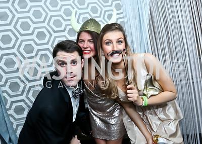 Jeb Berry, Kayla Kaull, Molly Colehower. Photo by Tony Powell. 2015 SOME Junior Gala. February 7, 2015
