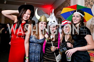 Lucy Zheng, Kristin Sundvor, Cass Price, Nicole Yeska, Carol Haynes. Photo by Tony Powell. 2015 SOME Junior Gala. February 7, 2015