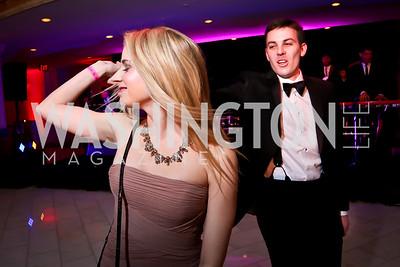 Christina Gervasi, Todd Hopfinger. Photo by Tony Powell. 2015 SOME Junior Gala. February 7, 2015