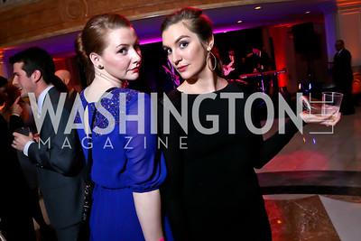 Nicole Brown, Amie Bruce. Photo by Tony Powell. 2015 SOME Junior Gala. February 7, 2015