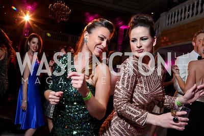 Jocelyn Kelly, Chloe Gray-Le Coz. Photo by Tony Powell. 2015 SOME Junior Gala. February 7, 2015