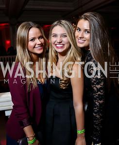 Maya Seibert, Sydney Hart, Natasha Makowsky. Photo by Tony Powell. 2015 SOME Junior Gala. February 7, 2015