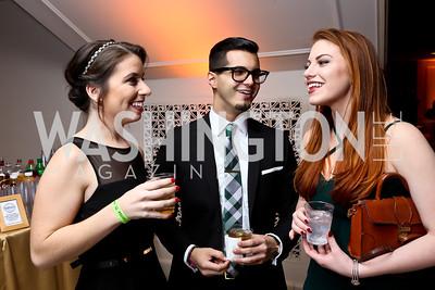 Nicole Whalen, Luis Colon, Jamie Bergstrom. Photo by Tony Powell. 2015 SOME Junior Gala. February 7, 2015