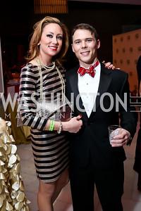 Lauren Burke, Thomas Carr. Photo by Tony Powell. 2015 SOME Junior Gala. February 7, 2015