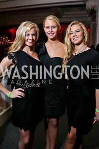 Kristen Topping, Morgan Topping, Allison Van Valkenburg. Photo by Tony Powell. 2015 SOME Junior Gala. February 7, 2015