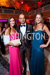 Emily Lorenz, Vijay Swamy, Amy O'Shea. Photo by Tony Powell. 2015 SOME Junior Gala. February 7, 2015
