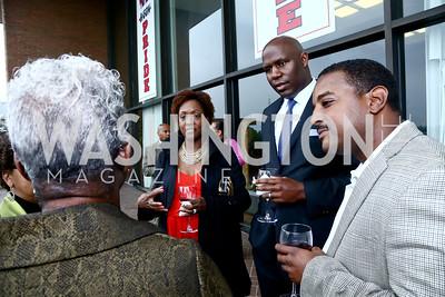 Erica Green, Jeffery Kennerly, Kahlil Gross. Photo by Tony Powell. 2015 Step Afrika Gala. HU. June 4, 2015
