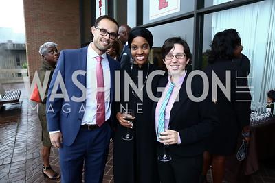 Adam Kent, Adiyah Ali, Quinn Pregliasco. Photo by Tony Powell. 2015 Step Afrika Gala. HU. June 4, 2015