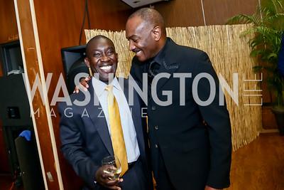 Michael Yates, Reggie Van Lee. Photo by Tony Powell. 2015 Step Afrika Gala. HU. June 4, 2015