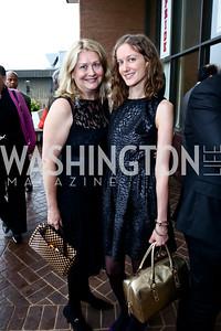 Heather Frank, Dawn Whitmore. Photo by Tony Powell. 2015 Step Afrika Gala. HU. June 4, 2015
