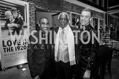 Jonathan Burke, Carl Cole, Zach Lynch. Photo by Tony Powell. 2015 Studio Theatre Gala. February 7, 2015