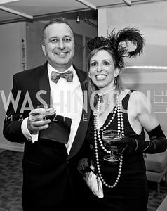David Sheon, Michal Fishman. Photo by Tony Powell. 2015 Studio Theatre Gala. February 7, 2015