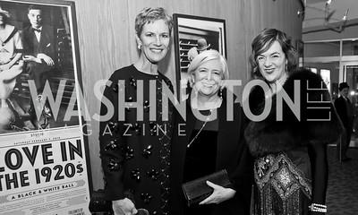Meg Hauge, Joyce Thornhill, Marsha Lehrman. Photo by Tony Powell. 2015 Studio Theatre Gala. February 7, 2015