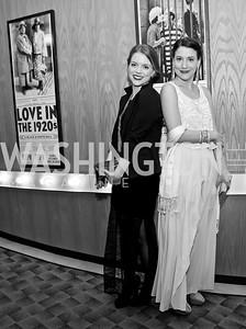 Sara Tisdale, Irene Lucio. Photo by Tony Powell. 2015 Studio Theatre Gala. February 7, 2015