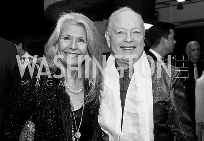 Barbara Hawthorn, Tom Mansbach. Photo by Tony Powell. 2015 Studio Theatre Gala. February 7, 2015