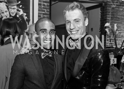 Jonathan Burke, Zach Lynch. Photo by Tony Powell. 2015 Studio Theatre Gala. February 7, 2015
