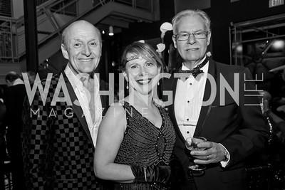Victor Shargai, Pamela Nash, Scott Hunt. Photo by Tony Powell. 2015 Studio Theatre Gala. February 7, 2015
