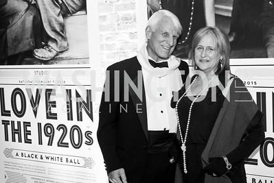 Carl Nash, Faith Lewis. Photo by Tony Powell. 2015 Studio Theatre Gala. February 7, 2015