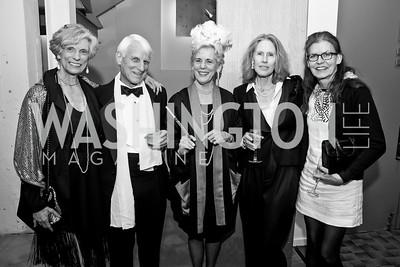 Nancy Jason, Carl and Undine Nash, Jill McGovern, Trish Smith. Photo by Tony Powell. 2015 Studio Theatre Gala. February 7, 2015