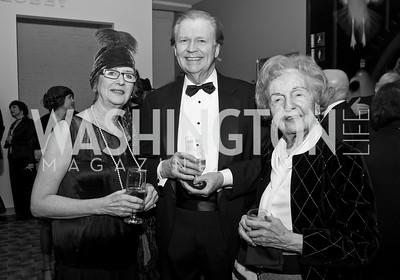 Virginia MacArther, Winston Haythe, Leane Atlas. Photo by Tony Powell. 2015 Studio Theatre Gala. February 7, 2015