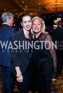 Gwen Holliday, Deborah Sigmund. Photo by Tony Powell. 2015 Teach for America Gala. Omni Shoreham. March 4, 2015