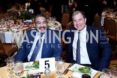 Bob Hisaoka, Jim Abdo. Photo by Tony Powell. 2015 Teach for America Gala. Omni Shoreham. March 4, 2015