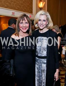 Barbara Harrison, Katherine Bradley. Photo by Tony Powell. 2015 Teach for America Gala. Omni Shoreham. March 4, 2015