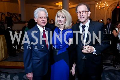 Donald and Rhona Friedman, Antoine Van Agtmael. Photo by Tony Powell. 2015 Teach for America Gala. Omni Shoreham. March 4, 2015