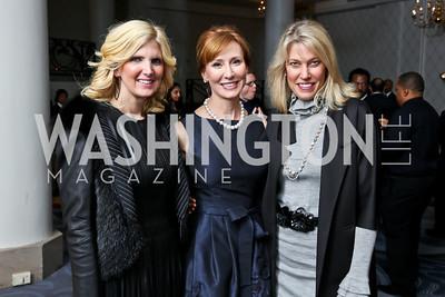 Ashley Dabbiere, Anne Jacoboski, Michelle Olson. Photo by Tony Powell. 2015 Teach for America Gala. Omni Shoreham. March 4, 2015