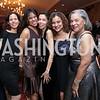 Jennifer Bowser, Janet Baker, Carolyn Yancey, Carla Taylor Pla, Pat Taylor. Photo by Tony Powell. 2015 Tuxedo Ball. Omni Shoreham. December 26, 2015