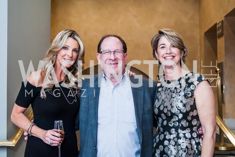 Joan Vassos, Scott Greenberg, Julie Raffensperger. Photo by Tony Powell. Uncorked. NMWA. November 21, 2015