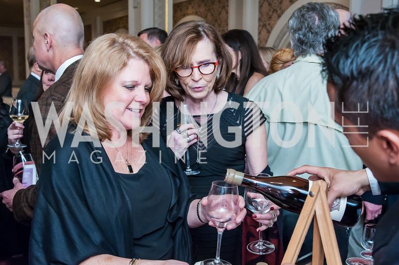 Randi Schweitzys, Kelley Hawk. Photo by Tony Powell. Uncorked. NMWA. November 21, 2015