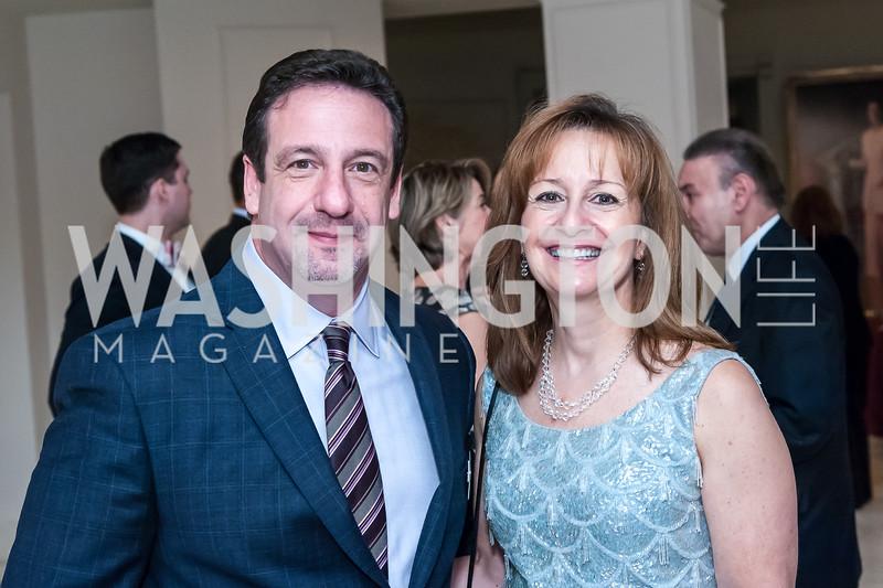 Rich and Donna Mahan. Photo by Tony Powell. Uncorked. NMWA. November 21, 2015