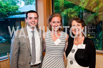 Ian Cassidy, Sarah Brody, Jenny Brody. Photo by Tony Powell. 2015 Voices Against Violence. May 14, 2015
