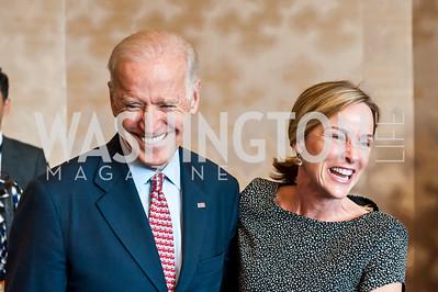Vice President Joe Biden, Kathleen Biden. Photo by Tony Powell. 2015 Voices Against Violence. May 14, 2015