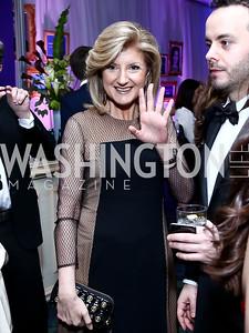 Arianna Huffington. Photo by Tony Powell. 2015 WHCD Pre-parties. Hilton Hotel. April 25, 2015