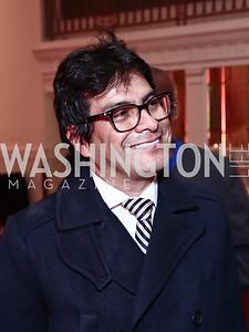 Honoree Danilo Rueda. Photo by Tony Powell. 2015 WOLA Human Rights Awards. Mayflower. October 28, 2015